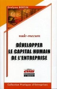 Evelyne Bertin - Développer le capital humain de l'entreprise.