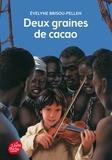 Evelyne Brisou-Pellen - Deux graines de cacao.
