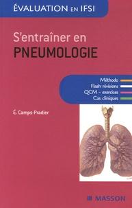 Evelyne Camps-Pradier - S'entraîner en pneumologie.