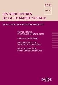 Les rencontres de la chambre sociale de la cour de cassation - Mars 2011.pdf
