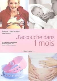 Evelyne Cosquer-Fery - J'accouche dans un mois.