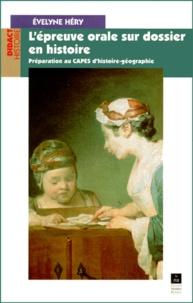 Checkpointfrance.fr L'épreuve orale sur dossier en histoire. Préparation au CAPES d'histoire-géographie Image