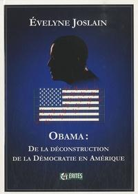 Checkpointfrance.fr Obama : de la déconstruction de la démocratie en Amérique Image