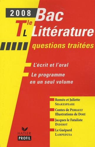 Evelyne Lantonnet - Bac littéraire Tle L.