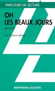 Evelyne Leblanc - Oh les beaux jours, Beckett.