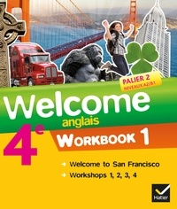 Evelyne Ledru-Germain - Anglais 4e Palier 2 Niveaux A2/B1 Welcome - Workbooks 1 et 2 (2 volumes).