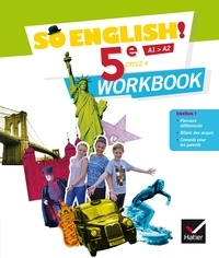 Evelyne Ledru-Germain - Anglais 5e Cycle 4 So English! - Workbook.