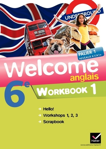Anglais 6e Welcome Workbook En 2 Volumes