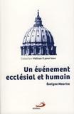 Evelyne Maurice - Un événement ecclésial et humain.