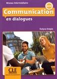 Evelyne Siréjols - Communication en dialogues Niveau intermédiaire A2/B1. 1 CD audio MP3