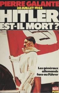 Evgeni Silânov - Hitler est-il mort ? - Les généraux allemands face au Führer de 1934 à 1945.
