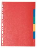 EXACOMPTA - 6 intercalaires en carton A4