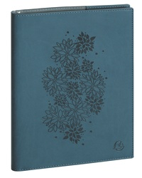 EXACOMPTA - Agenda semainier Exacompta Lady 20 Flora 21x15 cm. Coloris assortis au choix.