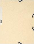 EXACOMPTA - Chemise à élastiques 3 rabats - ivoire