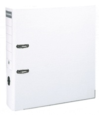 EXACOMPTA - Classeur à levier blanc - dos de 80mm - A4 maxi - pour 600 feuilles