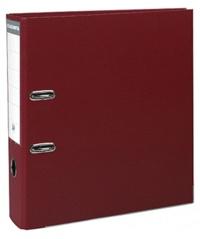 EXACOMPTA - Classeur à levier bordeaux - dos de 80mm - A4 maxi - pour 600 feuilles