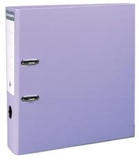 EXACOMPTA - Classeur à levier lilas - dos de 80mm - A4 maxi - pour 600 feuilles