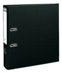 EXACOMPTA - Classeur à levier noir - dos de 80mm - A4 maxi - pour 600 feuilles