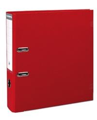EXACOMPTA - Classeur à levier rouge - dos de 80mm - A4 maxi - pour 600 feuilles