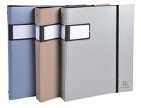 EXACOMPTA - Classeur Campus métal en polypro semi-rigide - A4+ 24,2x29,7cm - dos 40mm