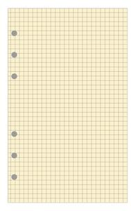 EXACOMPTA - Rech. Exatime 17 bloc 5x5 ivoire