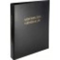 EXACOMPTA - Registre pour Assemblée Générale - 4 anneaux - 26x32cm