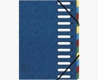 EXACOMPTA - Trieur carte lustrée Harmonika 12 positions