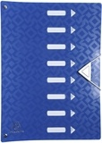 EXACOMPTA - trieur Offix en polypro dos extensible - 24x32cm