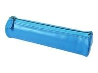 EXACOMPTA - Trousse fourre-tout Polochon en cuir - 22cm