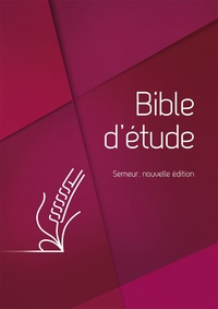 Excelsis - Bible d´étude Semeur - Couverture rigide bleue, tranche blanche.