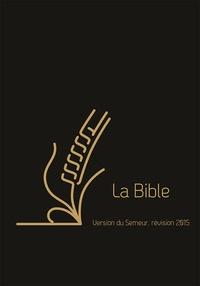 Histoiresdenlire.be La Bible - Version du Semeur, révision 2015, couverture cuir noire tranche dorée avec onglets Image
