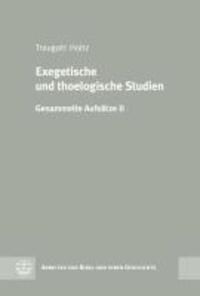 Exegetische und theologische Studien - Gesammelte Aufsätze II.