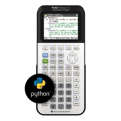 Calculatrice Ti 83 Premium Python
