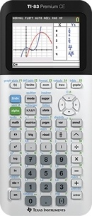 EXERTIS - Calculatrice Graphique Texas Instrument TI-83 Premium CE