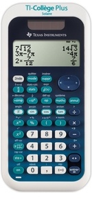 EXERTIS - Calculatrice Scientifique Texas Instruments TI-Collège plus solaire