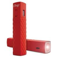 EXERTIS - GOLITE Batterie d'appoint pour smartphone avec lampe torche - rouge