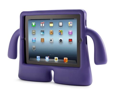 EXERTIS - iGUY coque iPad - violet