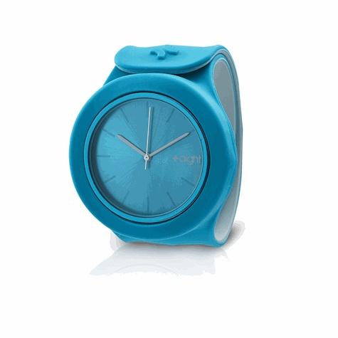 EXERTIS - Montre Aight - modèle Geek (bleu - gris)