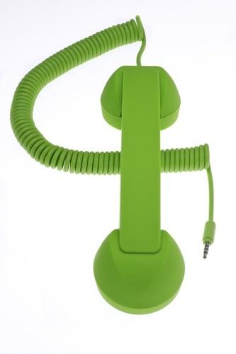 EXERTIS - POP PHONE combiné rétro - vert