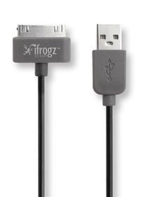 EXERTIS - UNIQUESYNC câble iPhone/iPad/iPod-USB - noir