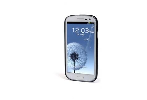 VESTO étui simili cuir pour Samsung Galaxy S3 - noir