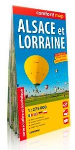 Alsace et Lorraine- 1/275 000 -  Express Map pdf epub