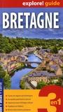 Express Map - Bretagne - Guide + atlas + carte routière et touristique 1/300 000.