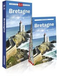Express Map - Bretagne - Guide + atlas + carte 1/320 000.
