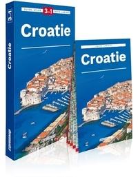 Express Map - Croatie - Guide + Atlas + Carte.