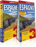 Express Map - Espagne du Nord - Guide + Atlas + Carte 1/1 100 000.
