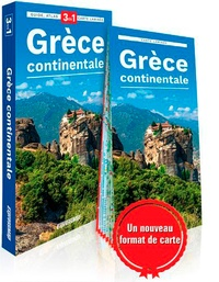 Express Map - Grèce continentale - Guide + atlas + carte.