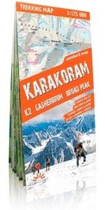 Express Map - Karakoram K2 Gasherbrum Broad Peak - 1/175 000.