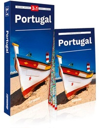 Express Map - Portugal - Guide + atlas + carte 1/520 000.