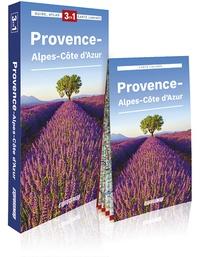 Express Map - Provence-Alpes-Côte d'Azur - Guide + atlas + carte 1/300 000.